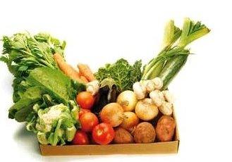 *…nebo jen farmářskou bedýnku se zeleninou…*
